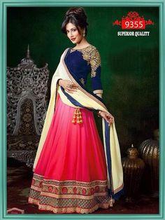 Pink and Blue Chitrangada Bollywood Lehenga Choli ,Indian Dresses