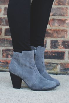 087d249bdf1e Finishing Touches Bootie - Grey. Shoes Heels ...