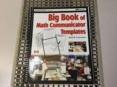 BIG BOOK OF MATH COMMUNICATOR TEMPLATES