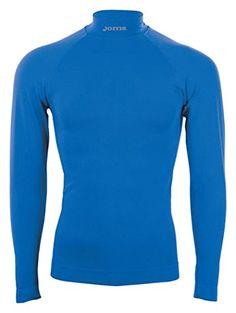Joma Brama Classic - Camiseta térmica de manga larga para hombre, color azul royal, talla L-XL #regalo #arte #geek #camiseta