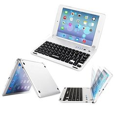 iPad 2/3/4, Air/2, Mini/2/3/4, Pro 9.7/12.9 Wireless Keyboard, COOPER AURORA 7-Color Backlit LED Wireless Bluetooth QWERTY Keyboard with Rechargeable Battery (Gold, Ultra Light & Slim)