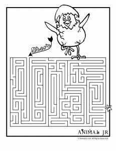 Easter Coloring Pages and Printable Mazes - Woo! Spring Coloring Pages, Easter Coloring Pages, Free Coloring Pages, Coloring Sheets, Activities For Adults, Art Therapy Activities, Holiday Activities, Preschool Activities, Printable Mazes