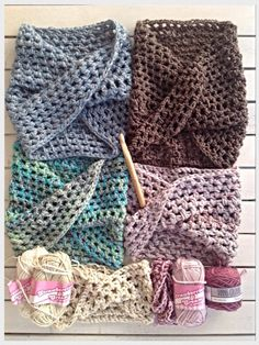 Twisted Crochet Neck Warmer (Easy!) By annekewiese - Free Crochet Pattern - (crochetinpaternoster.wordpress)