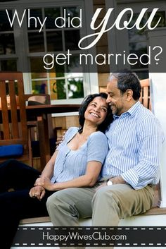 Why Did You Get Married? Click to Read!