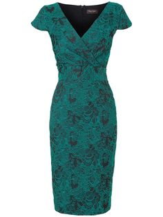 Phase Eight  Lily Stretch Jacquard Dress