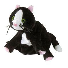 Prachtige handpop beleduc kat van uitstekende kwaliteit.