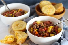 Texas Cowboy Stew Cowboy Stew, Salmon Soup, Beef Recipes, Cooking Recipes, Slow Cooker Roast Beef, Kielbasa Sausage, Chicken Breakfast, Favorite Recipes, Chilis