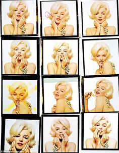 The Last Sitting with Marilyn Monroe, Vogue 1962 by Bert Stern