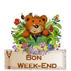 924230ba.gif (400×400) Bon Weekend, Weekend Gif, Week End, Good Morning, Teddy Bear, Toys, Animals, Tricot, Projects