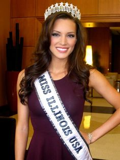 Miss USA | Road To Miss USA: Stacie Juris was crowned Miss Illinois USA 2013 Miss Illinois, Miss Usa, Pageant, Crown, T Shirt, Queen, Star, Makeup, Tops