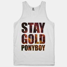 Stay Gold | HUMAN | T-Shirts, Tanks, Sweatshirts and Hoodies