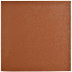 Merola Tile Klinker Red 5-7/8 in. x 5-7/8 in. Ceramic Bullnose Floor and Wall Quarry Tile, Red/Medium Sheen