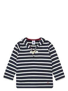 PETIT BATEAU Striped cotton jumper 3-36 months