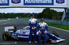 Damon Graham Devereux Hill (GBR) (Rothmans Williams Renault), Renault - Renault & Ayrton Senna da Silva (BRA) (Rothmans Williams Renault), Renault - Renault 1994 © Sutton Images / Williams Grand Prix Engineering Ltd. Damon Hill, Maisie Williams, Williams F1, Real Racing, F1 Racing, Grand Prix, Maserati, Lamborghini, Rs6
