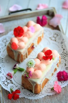 「フランボワーズ&フラワーのやみつきパウンドケーキ」きゃらめるみるく | お菓子・パンのレシピや作り方【corecle*コレクル】