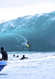 Matahi Drollet from the channel. Photo | Kenna Colburn More XXL Big Wave Awards