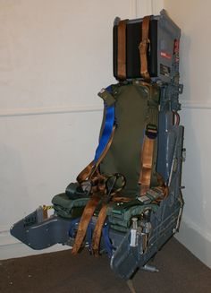 MARTIN BAKER MK.10 EJECTION SEAT for sale in the United Kingdom => http://www.airplanemart.com/part-for-sale/Aircraft-Parts--Spares/MARTIN-BAKER-MK10-EJECTION-SEAT/5319/
