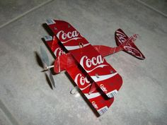 COCA-COLA-Can-Plane-Airplane-Made-from-REAL-Coke-cans