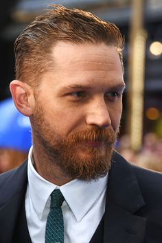 Tom 'Ginger' Hardy :) | Legend UK Premiere | Odeon Leicester Square | September 3, 2015 | London credit: David M. Bennet/WireImage