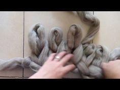 Como tejer una manta de lana merina XXL - gigante con tus propias manos - YouTube