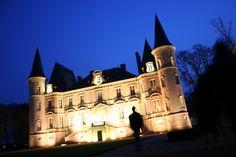 Le Château Pichon-Longueville, Grand Cru Classé en 1855, à Pauillac-Médoc