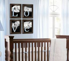 Baby boy nursery decor LOVE prints digital youprint by lissylee77, $18.00... pictures with letters spelling LOVE...so cute even for a living room wall.