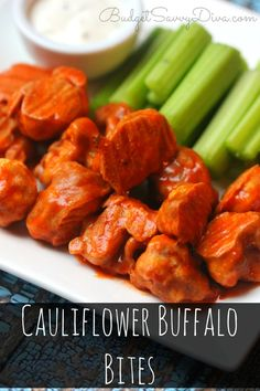 If you are a fan of buffalo wings - you are going to LOVE my Cauliflower Buffalo Bites Recipe - my husband ate a whole plate and he does not even like cauliflower - paleo friendly - baked not fried