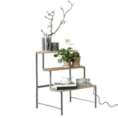 Buy Flower Pot Stand from Design House Stockholm. A plant stand which is as much an item of furniture as it is a mere utility. Sara Szyber's Flower Pot . Flower Planters, Flower Pots, Planter Pots, Flowers, Floor Shelf, Large Pots, Beach House Decor, Home Decor, New Construction