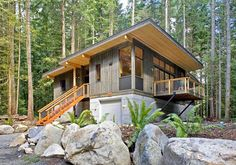 Prefab - Method Modular Homes and are stronger built. Not built when its raining.