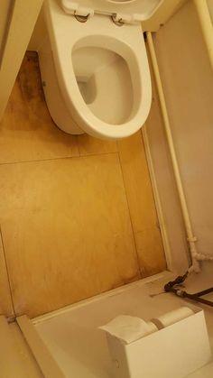 Before picture of bathroom ready for vinyl flooring Portland Street, Bathroom Pictures, Vinyl Flooring, Toilet, Wood, Flush Toilet, Vinyl Floor Covering, Woodwind Instrument, Timber Wood