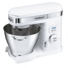 online shopping for Cuisinart Stand Mixer, White from top store. See new offer for Cuisinart Stand Mixer, White Small Kitchen Appliances, Kitchen Aid Mixer, Kitchen Gadgets, Cool Kitchens, Kitchen Stuff, Kitchen Products, Kitchen Ideas, White Appliances, Kitchen Things
