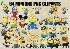 Minions Despicable Me Cliparts 64 Images in PNG by CartoonCliparts