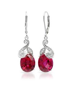 Ruby sterling silver earrings. From www.marsbazaarshop.com. Now you can take 6 months free interest through PayPal.