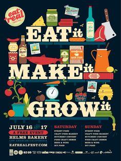 // Eat It, Make It, Grow It