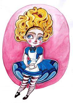 Alice by rynarts.deviantart.com on @deviantART