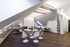 Un attico open space in #mansarda