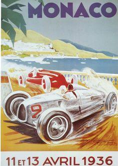 8th Grand Prix Automobile, Monaco (1936)