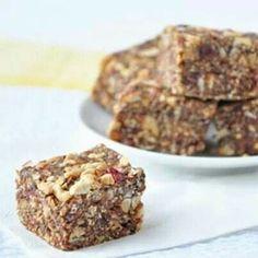 Pb&j, chunky, no bake granola bars
