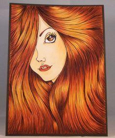 Skin: E50, E51, E01, E02 Lips: E08 Tongue: E02 Hair: YR14, E08, E19, E59