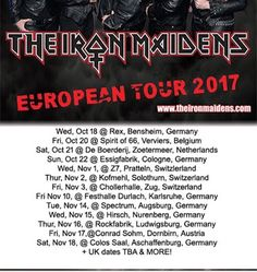 Courtney Cox Nikki Stringfield: The Iron Maidens European tour dates 2017  The Iron Maidens The Iron Maidens return to Europe this Oct-Nov with stops in the UK Switzerland Austria Germany Belgium the Netherlands and more being added as we type! Stay tuned! You can always sign up on our emailing list athttp://ift.tt/14PxGDZ to get TIMs news delivered right into your inbox! Now who wouldn't like a bit of TIMs delivered right on your lap(top)? hehe! Courtney Cox Nikki Stringfield