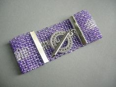 Violet+snake.+Bransoletka+w+imagine.+na+DaWanda.com