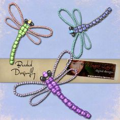 Beaded Dragonfly | Beaded Dragonfly - action