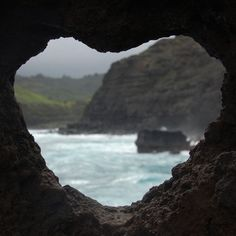 Awesome....found in Nature is this heart hole in rock...so unreal, we think.