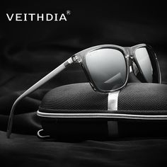 c6b3bb4b40 VEITHDIA Unisex Retro Aluminum+TR90 Polarized Mens Sunglasses Brand  Designer mirror Vintage Driving Sun Glasses for Women shades