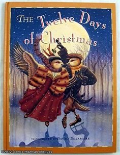 Twelve Days Of Christmas Book.47 Best The Twelve Days Of Christmas Picture Books Images