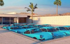 The Car Art of Chris Labrooy Chris Labrooy, Porsche Models, Photocollage, Car Humor, Dream Life, Bauhaus, Shades Of Blue, Kendall Jenner, Art Images