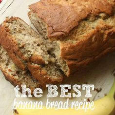THE VERY BEST BANANA BREAD I have to say that I think in my own little personal world that I have the very best banana bread recipe. I mean, how else would I be able to stomach eating a while…