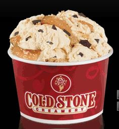 the cure for any heart that's hurting <3  Cold Stone Ice Cream