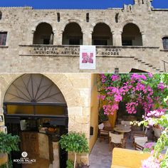 Do you like visiting museums during your vacation?!  If yes do not miss visiting the Municipal Art Gallery of Rodos!!  Enjoy Rodos island!!  www.rodos-palace.com