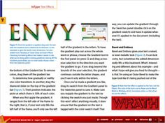 The Seven Lively Sins: Try These InDesign Type Effects - CreativePro.com